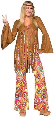 Forum Novelties Women's Groovy Sweetie Hippie Costume