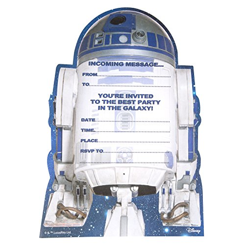 Hallmark Star Wars Cartons d'invitation pour un anniversaire Motif Best Party in the Galaxy' (Lot de 20)