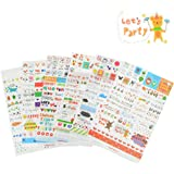 Marrywindix Tech 6 Sheets Decorative Scrapbooking Craft Sticker Diary Album Sticker Adhesive