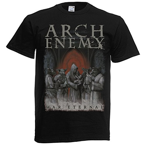 "Eternal, motivo ""Arch Enemy-War 702297-Maglietta nero X-Large"