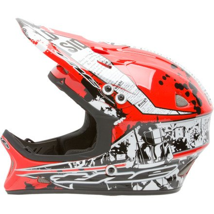 Buy Low Price THE Industries T2 Composite Full-Face Helmet (B005QYDMKU)
