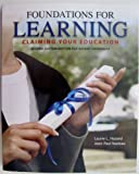 img - for Foundations For Learning, Claiming Your Education (Second Custom Edition For Bryant University) book / textbook / text book