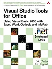 Visual Studio Tools for Office VSTO for Excel Word and Outlook by Eric Carter
