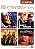 TCM GREATEST CLASSIC FILMS-JOHN WAYNE WESTERNS (DVD/4FE/2 DISC) TCM GREATEST CLASSIC FILMS-JOHN WAY