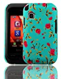 PointH Samsung Champ C3300K Printed Hard Shell Stylish Back Protection Case Cover Clip On Protection - Garden Rose Design