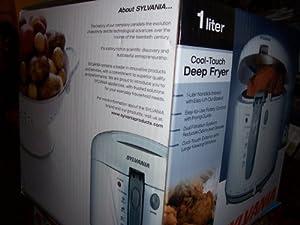 Sylvania Cool-touch Deep Fryer 1 Liter 467349