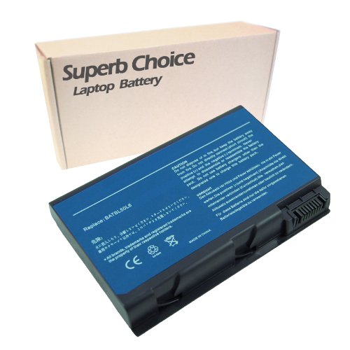 Splendid Choice 6-Cell Laptop Battery for Acer Aspire 5100 BL51
