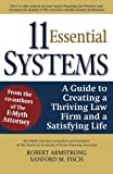 img - for 11 Essential Systems: A Guide to Creating a Thriving Law Firm and a Satisfying Life book / textbook / text book