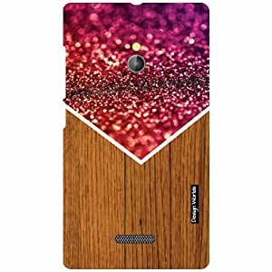 Design Worlds Nokia XL RM-1030/RM-1042 Back Cover - Wood Designer Case and Covers