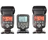 Yongnuo YN560-TX LCD Wireless Manual Flash Controller + 2pcs YN-560 III Manual Flash Speedlite Light For Canon EOS 650D 600D 550D 500D 450D 400D 350D 300D 5D 5DII 5DIII 1D 1Ds 7D DSLR