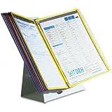 Tarifold Desktop Reference Starter Set with Ten Display Pockets, 20 Sheet Capacity (D291)