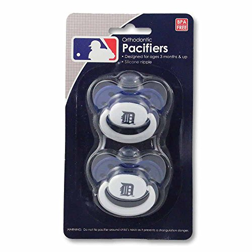 Detroit Tigers Baby Pacifiers - Set Of 2 front-1040618