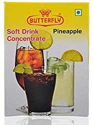 Butterfly Soft Drink Concentrate- Pineapple, 30 Grams