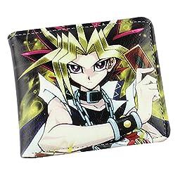 Yu-gi-oh Muto Yugi Aibo Atum Yugioh Wallet Purse Pu Leather Fold Wallet