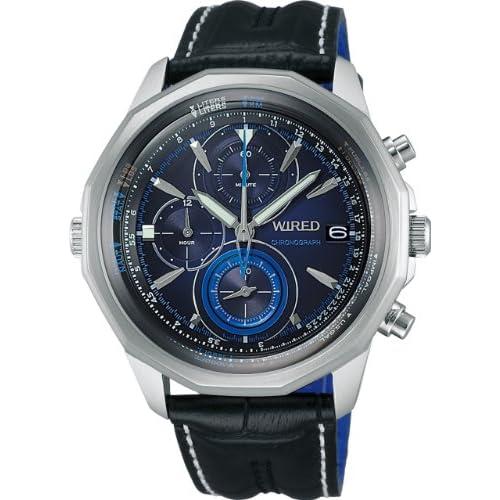 [ワイアード]WIRED 腕時計 THE BULE - SKY 日常生活用強化防水 (10気圧) クオーツ AGAW422 メンズ