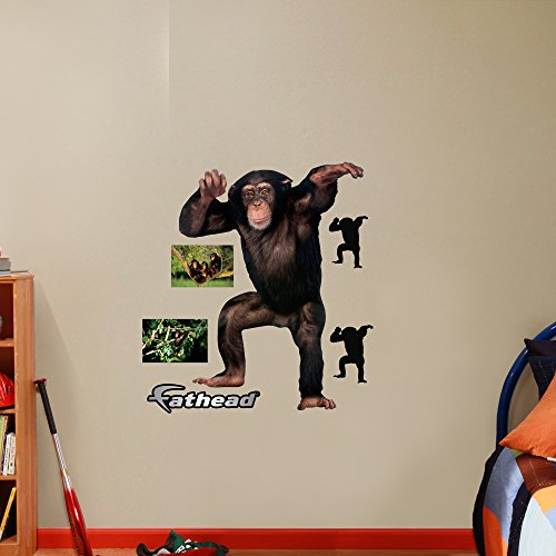 Fathead Chimpanzee Real Big Wall Decor