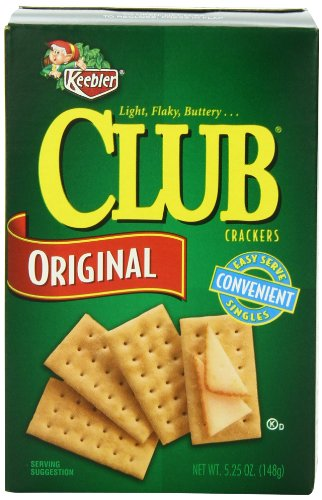 Club Crackers, 5.25-Ounce Boxes (Pack of 12)