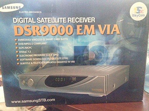 Samsung DSR9000 EM VIA Digital Satellite Receiver – FTA Free to Air Receiver
