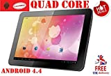 "*CHEAPEST QUAD CORE 10.1"" TABLET* Yones® GOOGLE ANDROID KITKAT 4.4 10.1"" GADGETSFAIR TABLET PC QUAD CORE CPU POWERFUL GPU SLIM DESIGN RESOLUTION 1024X600, 1G RAM FULLY SUPPORT FACEBOOK, YOUTUBE,"