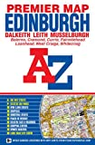 img - for Edinburgh Premier Map A-Z (A-Z Premier Street Maps) book / textbook / text book