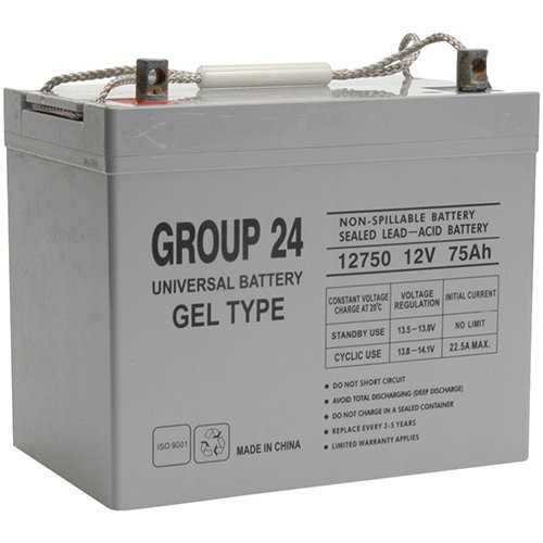 Group 24 Gel Type Battery Replacement For Orthofab Fortress Wheelchair 655