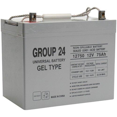 Group 24 Gel Type Battery 12V 75Ah For Quantum Q1420 / Q1650