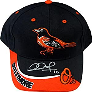 Adam Jones Autographed Signed Baltimore Orioles Baseball Cap by Hollywood Collectibles