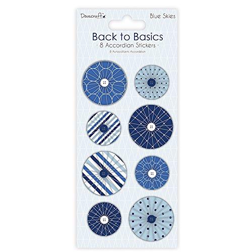 dovecraft-back-to-basics-pegatinas-de-acordeon-color-azul