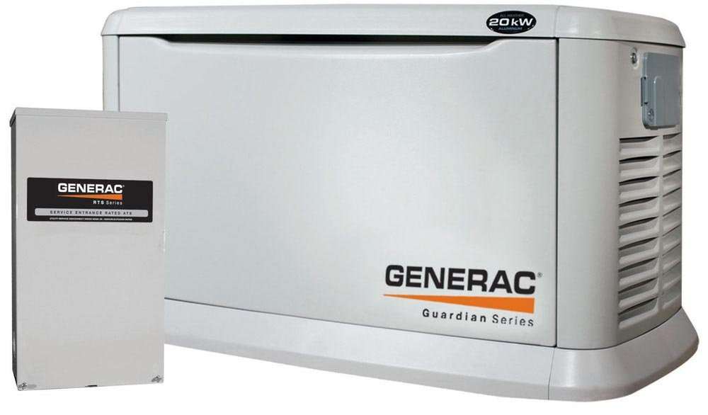 Natural Gas Whole House Standby Generators