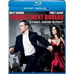 The Adjustment Bureau (Blu-ray + DIGITAL HD with UltraViolet)