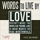 Words to Live By 2015 Mini Calendar