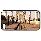 Bibi Ka Maqbara. - Case Cover for iPhone 4 and 4s (Monuments Series, Watercolor style, Black)
