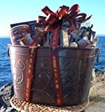 For the Love of Chocolate Gourmet Gift Basket - Heartwarming Treasures