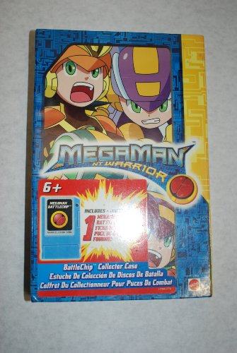Picture of Mattel MegaMan NT Warrior BattleChip Collector Case Figure (B0008JIL54) (Mattel Action Figures)