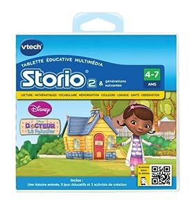 Vtech - 232105 - Storio 2 et générations suivantes - Jeu éducatif - Docteur la Peluche