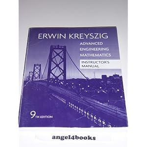 erwin kreyszig 9th edition solution pdf