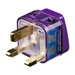 デバイスネット エレプラグW 電源プラグ変換アダプター RWD002 (BFタイプイギリス・香港)