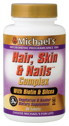 Michael's Health Products - Hair Skin & Nails, 90 tablets