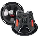 "PAIR BOSS AUDIO P126DVC Phantom 12"" 4600W Car Power Subwoofers"