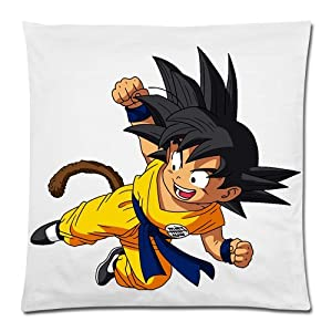 NEW HOT ANIME DRAGON BALL Z pattern logo Stylish customed Throw Toss Pillow Cover case 18x18 inch creative gift Premium Quality by Distinctive Design Studio