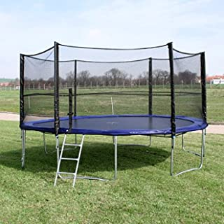 xxl trampoline m cover and ladder included uk trampolines. Black Bedroom Furniture Sets. Home Design Ideas