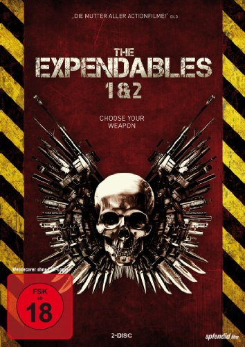 The Expendables 1 & 2 [2 DVDs]
