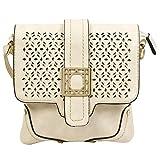 Colors Inc. Women's Party Sling Bag (Cream) - VKBLSLNG-10013