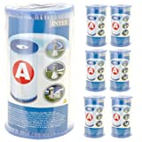 Box of 6 Intex Swimming Pool Filter Cartridge Type A - 59900