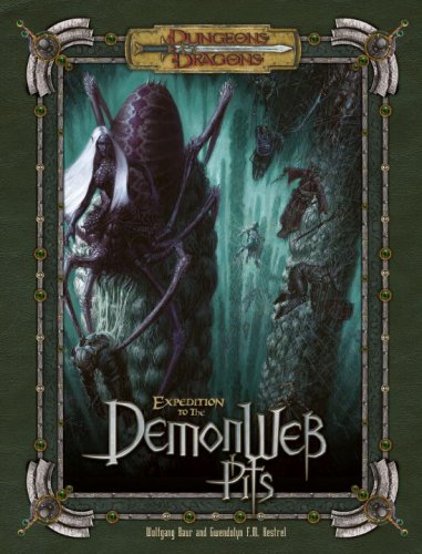 Expedition to the Demonweb Pits: Campaign Adventure