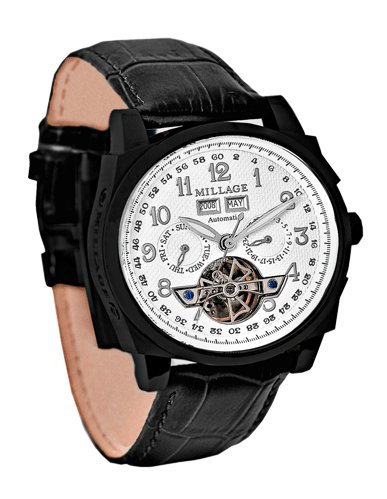 Millage Tourbillion Collection IP Black On White On Black