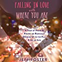 Falling in Love with Where You Are: A Year of Prose and Poetry on Radically Opening up to the Pain and Joy of Life Audiobook by Jeff Foster Narrated by Stephen Paul Aulridge Jr.