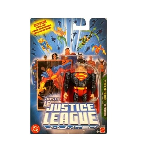 Justice League Unlimited Cyber Defenders Superman Action Figure - 1
