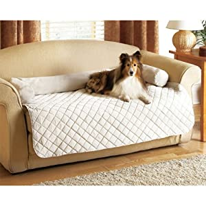 Amazon Com Quilted Off White Slumber Couch Furniture Pet