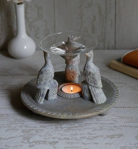 christmas-gift-exclusive-peacock-themed-oil-burner-warmer-natural-soapstone-aroma-diffuser-with-voti